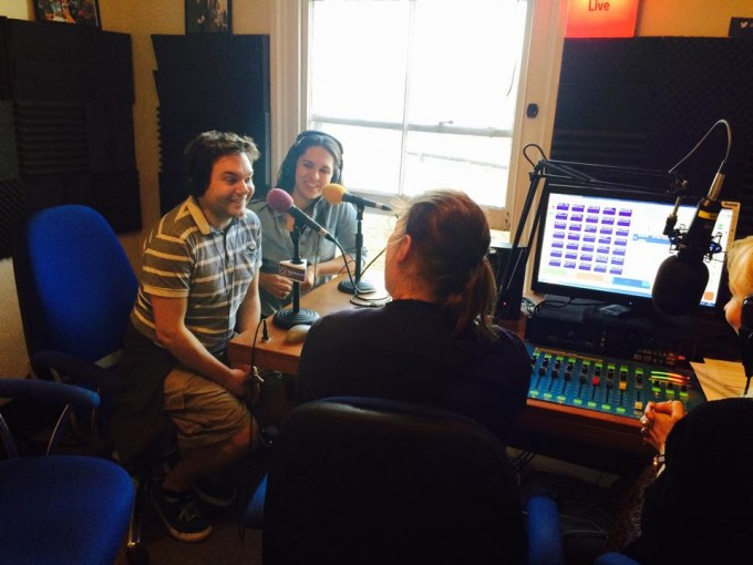 Damian Sandys & Emma Coffey on Radio Wandsworth's Spotlight with Michelle & Sian